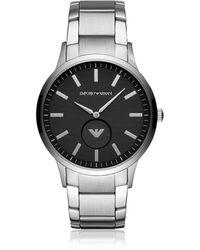 Emporio Armani Elegante Uhr für Herren - Mettallic