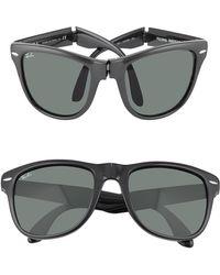 Ray-Ban - Wayfarer Folding - Square Acetate Sunglasses - Lyst