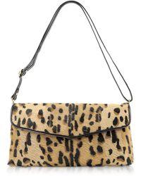 07d69d975cdfb Fontanelli - Calfhair Leopard Print Shoulder Bag - Lyst