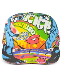 Moschino - Juicicle Comic Girl Cotton Baseball Cap - Lyst