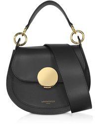 Le Parmentier Yucca Soho Top-handle Shoulder Bag - Black