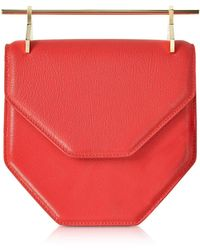 M2malletier - Amor Fati Hibiscus Leather Shoulder Bag - Lyst