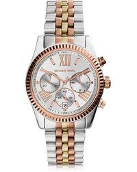 Michael Kors Reloj para Mujeres Lexington de Acero Multicolor - Metálico