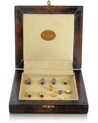 FORZIERI - Genuine Leather Backgammon Board With Magnetic Pieces - Lyst