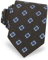 FORZIERI - Daisy Woven Silk Men's Tie - Lyst