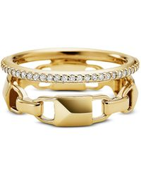 Michael Kors - Mkc1025an710 Mercer Link Women's Ring - Lyst
