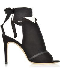 Olgana Paris - La Jolie Black Suede High Heel Pump - Lyst