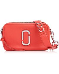 Marc Jacobs - Women's M0014591612 Red Leather Shoulder Bag - Lyst