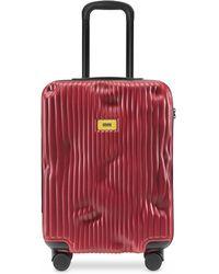 Crash Baggage Stripes Carry-On Trolley - Rojo