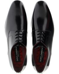 Dolce & Gabbana Black And Grey Lace-ups