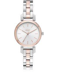 DKNY - Ellington 28mm Two-tone Women's Watch - Lyst