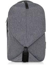 Côte&Ciel EcoYarn Grey Oril S Backpack - Grau