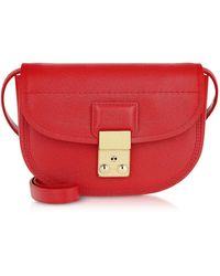 3.1 Phillip Lim Designer Sacs à main, Pashli - Mini Sac à Bandoulière en Cuir - Rouge