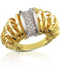 Orlando Orlandini - Galaxy - Diamond 18k Gold Ring - Lyst
