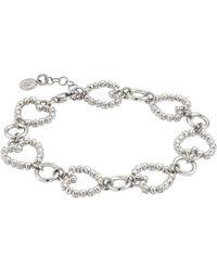 Nomination Rock In Love Heart Chain Bracelet - Metallic