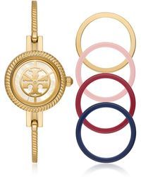 Tory Burch The Reva Bangle Watch - Metallic