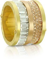 Michael Kors - Multi-stone Barrel Ring - Lyst