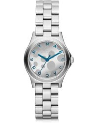 Marc By Marc Jacobs Women's Silver Steel Watch - Metallic