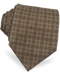Moreschi | Printed Silk Tie | Lyst