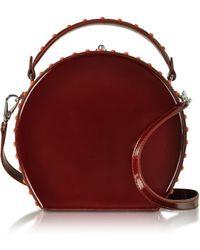 Bertoni - Chianti Leather Bertoncina Satchel Bag - Lyst