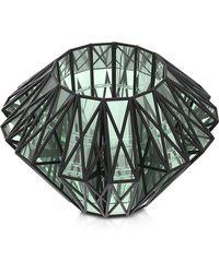 Vojd Studios - Translucent Glass Cage Statement Cuff - Lyst