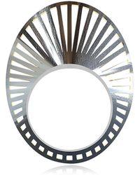 Vojd Studios - Phase Precious Oval Sterling Silver Ring - Lyst