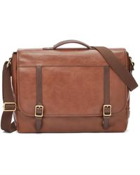 Fossil Evan Messenger Bag Sbg1161200 - Brown
