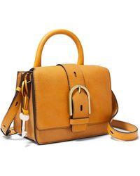 Fossil Wiley Top Handle Handbags Zb7960723 - Metallic