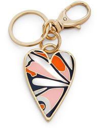 Fossil - Heart Keyfob Accessories Multi - Lyst