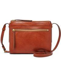 Fossil Felicity Crossbody Handbags Shb2000210 - Brown
