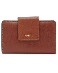 Fossil Madison Tab Multifunction Wallet Swl2230210 - Brown