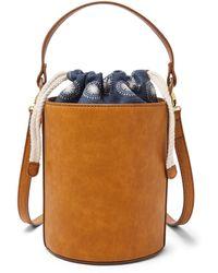 Fossil Courtney Bucket Bag - Blue