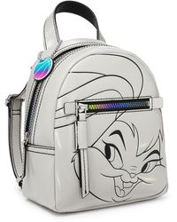 Fossil Space Jam By Lola Bunny Small Backpack - Metallic