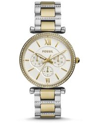 Fossil - Carlie Multifunction Two - Lyst