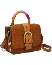 Fossil Wiley Top Handle - Brown