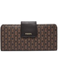 Fossil Madison Slim Clutch Wallet Swl2245015 - Multicolour