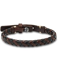 Fossil Jewelry With Strap Ja5932716 - Brown