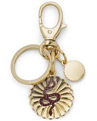 Fossil Modern & Magic Keyfob Accessories Gold - Metallic