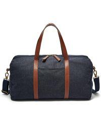 Fossil Renmore Duffle Bag Sbg1240400 - Black