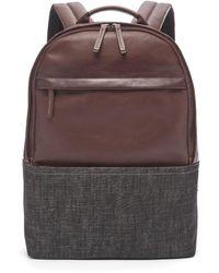 Fossil Kenton Backpack Bag Sbg1252914 - Brown