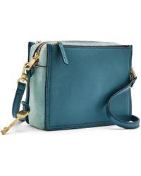 Fossil - Campbell Crossbody Handbags Caribbean - Lyst