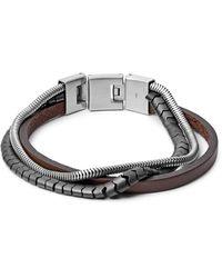 Fossil Armband Multi-Strand - Mehrfarbig