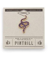 Fossil Pintrill® X Modern & Magic Serpent Pin Fig - Multicolor