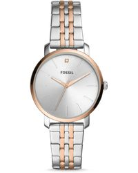Fossil Lexie Luther Three-hand Two-tone Stainless Steel Watch Jewellery - Metallic