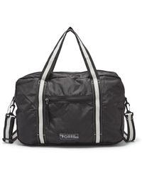 Fossil Jaxson Duffle Bag Black