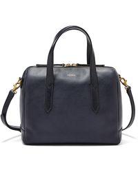 Fossil Sydney Satchel Handbags Shb1978406 - Multicolor