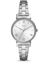Fossil - Daisy Three-hand Stainless Steel Watch Jewelry - Lyst