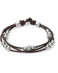 Fossil Fashion Bracelet Of Length 19cm Ja6068040 - Brown