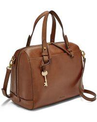Fossil Rachel Satchel Handbags Brown