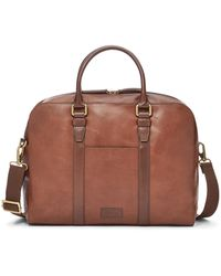 Fossil Evan Workbag Bags Sbg1162200 - Brown